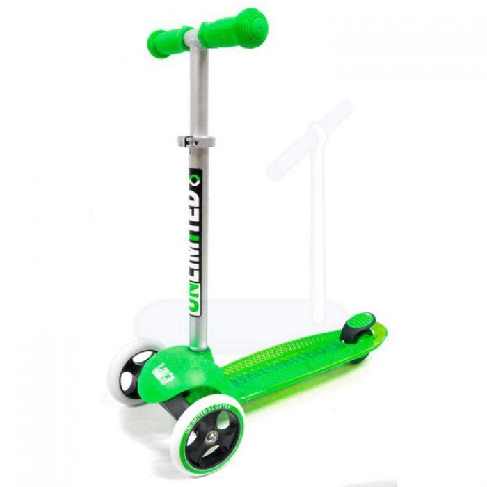 Самокат Unlimited MS05 зеленый