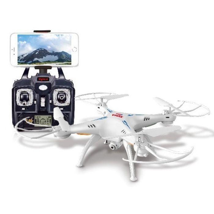 Квадрокоптер - Syma X5SW WiFi FPV RTF 2.4GHz с 6-ти осевым гироскопом (Headless)