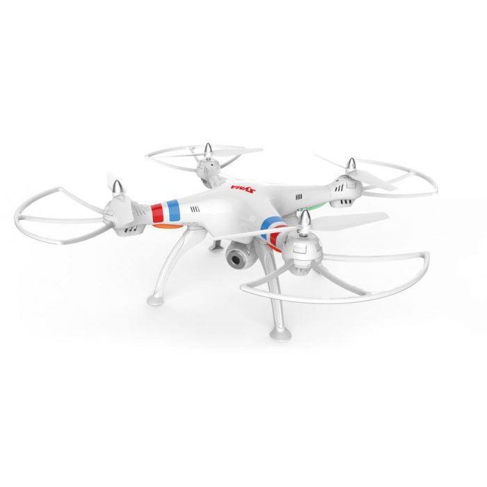 Квадрокоптер Syma X8W RTF 2.4GHz (Wi-Fi) FPV с камерой и светодиодами