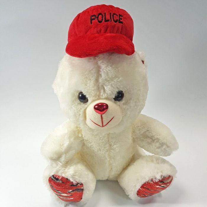 Плюшевый медведь Police - 35 см
