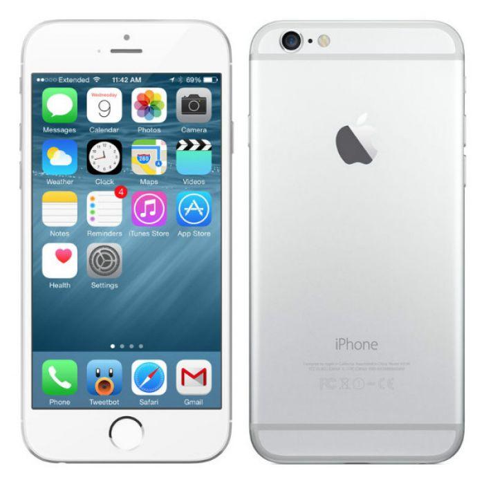 Apple Iphone 6 64gb Silver - восстановленный