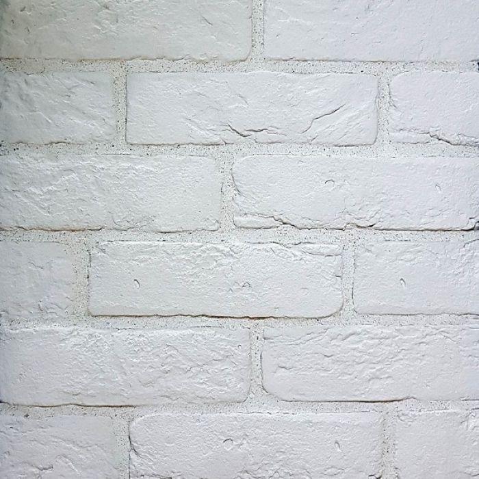 Шамотный белый, искусственный камень