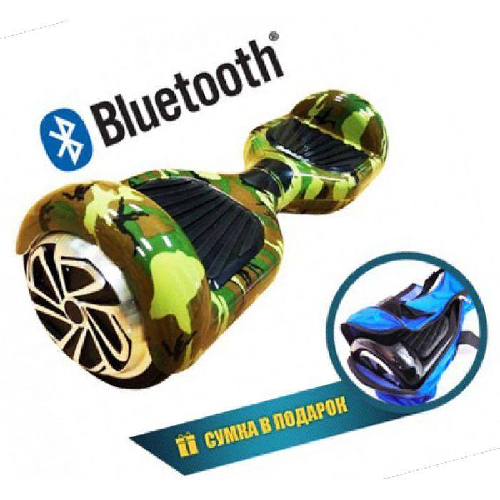 """Гироскутер Smart Balance """"Хаки""""  6,5 дюймов (Bluetooth-music)"""