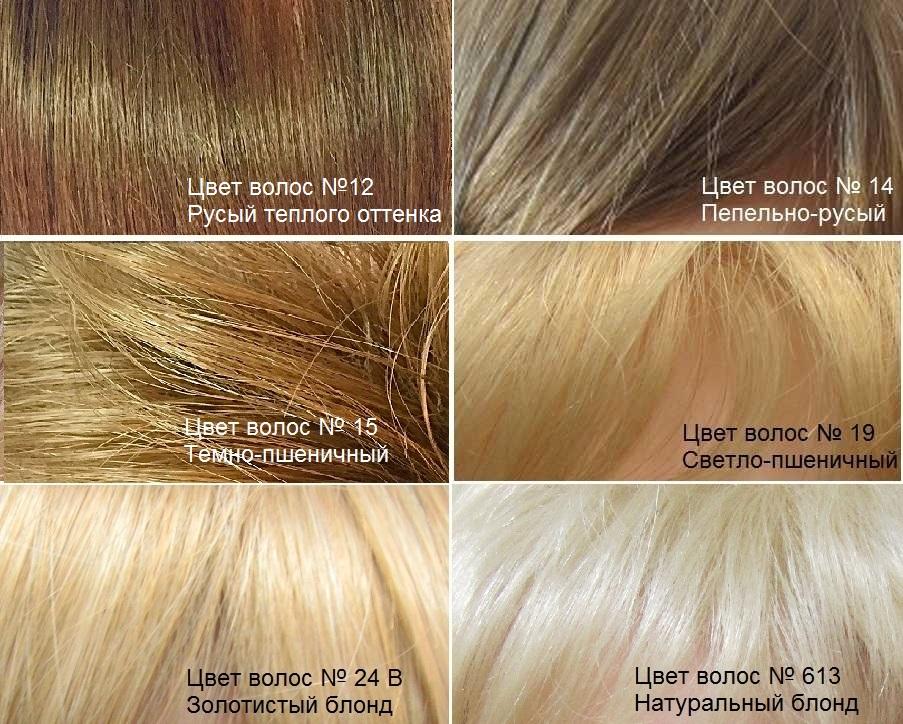 Тёплый русый цвет волос