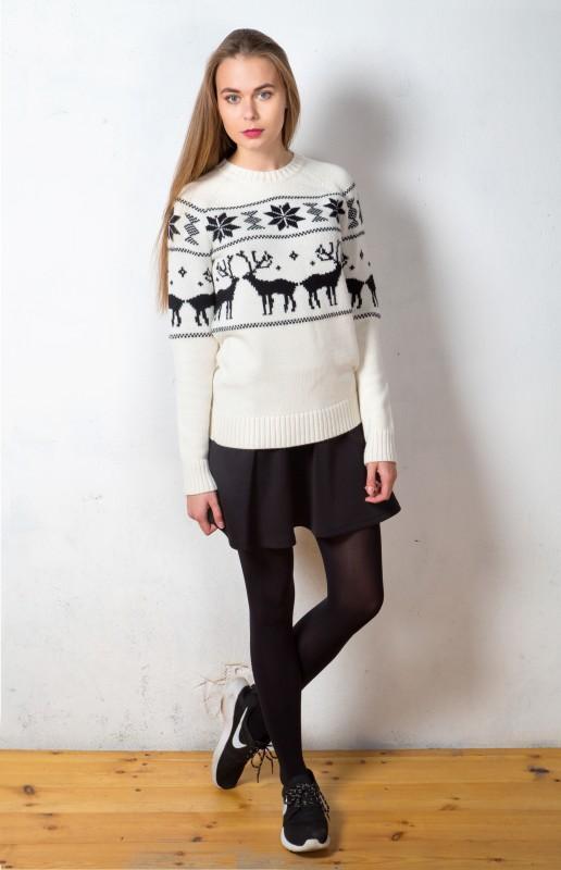 Купить свитер с оленями в интернет магазине