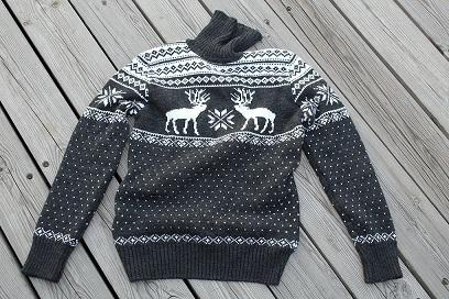 Свитер с оленями оптом купить в магазине lanord.ru