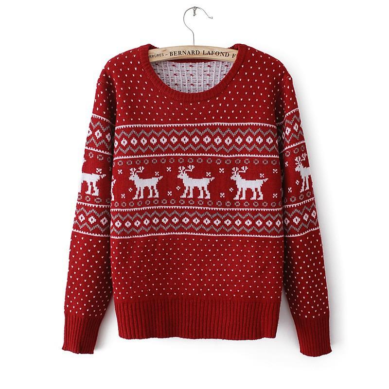 Свитера с оленями купить легко и просто в магазине lanord.ru