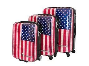 Предлагаем по минимальным ценам в Москве купить чемодан на колесах пластиковый