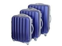 У нас можно купить пластиковый чемодан на 4 колесиках недорого