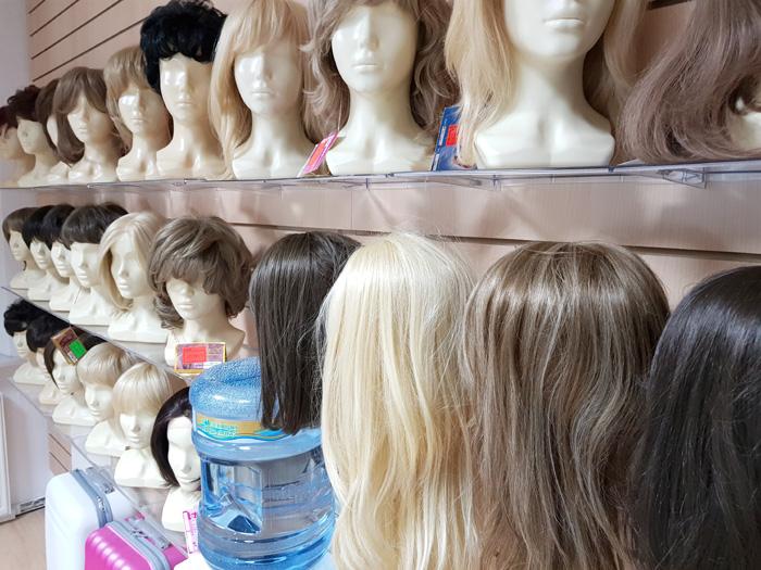Купить длинные парики в магазине париков