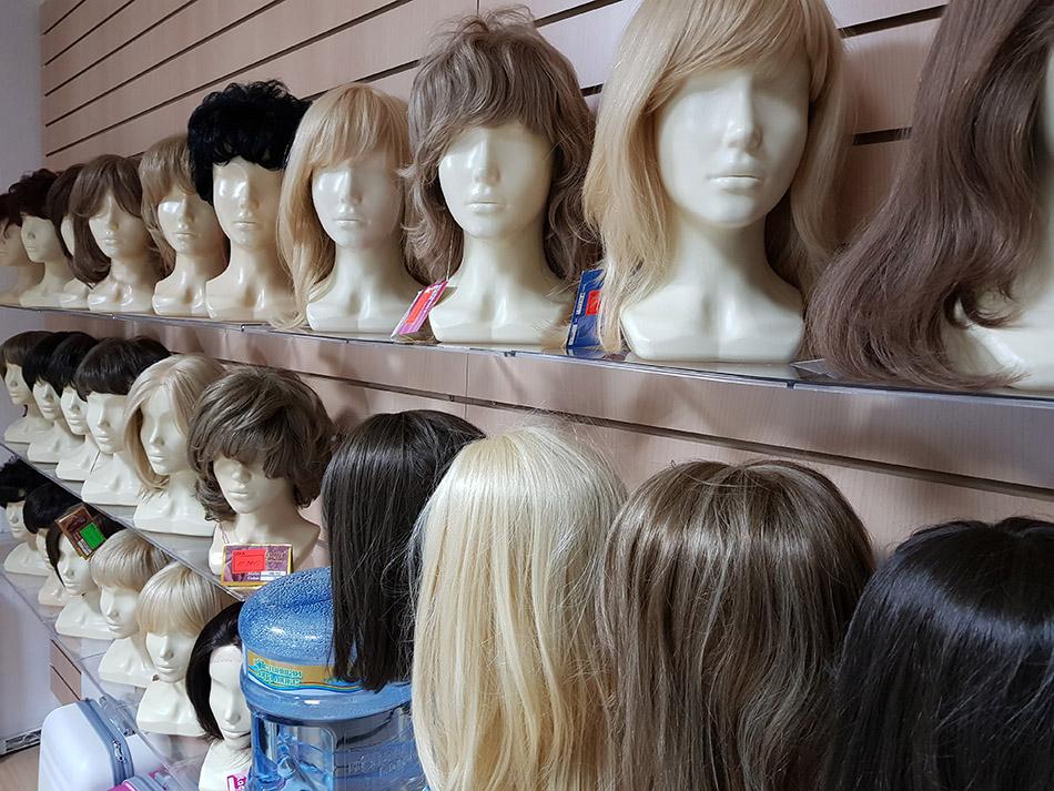 Искусственные парики недорого