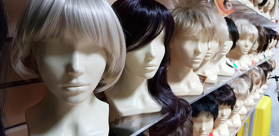 купить парик из термоволокна