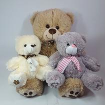 Плюшевые медведи купить в Москве недорого LaNord.ru