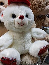 Белый плюшевый мишка от 390 рублей в Москве | LaNord.ru