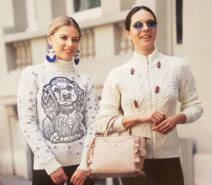 Купить женские свитера. Магазин LaNord.ru